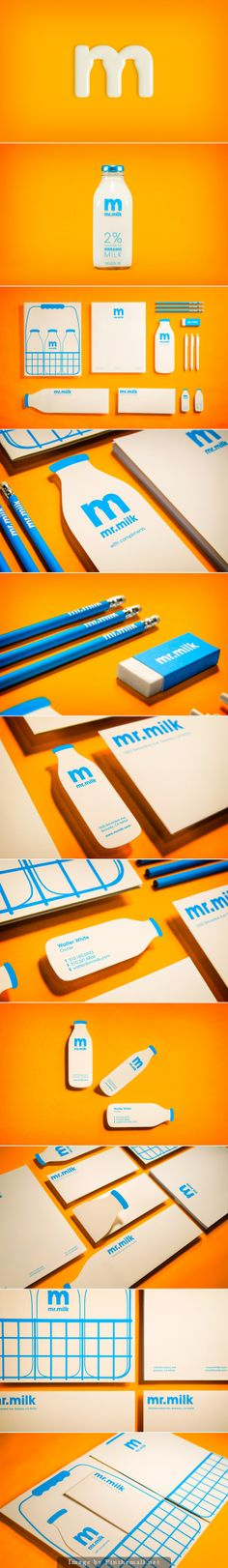 Milk by Justin Ross Tolentino. Creative logo design and packaging. Web Design, Logo Design, Brand Identity Design, Graphic Design Branding, Stationery Design, Logo Branding, Corporate Design, Corporate Identity, Visual Identity