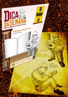Portfolio: Campanha Dica da Semana, Biblioteca Pública Luis F...