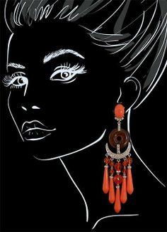 Earrings by Carlo Zini