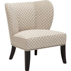 Annie Chair, Vapor Pearl - Furniture - Chairs - Fabric  - Best Sellers - Made in the USA Furniture - Room Ideas - Living Room - Modern Simplicity - Grey Matters - Pretty Tailored - annie - Award-Winning Furniture