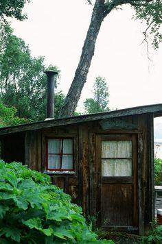 kgisdigital:  sea shell cabin. homer, ak