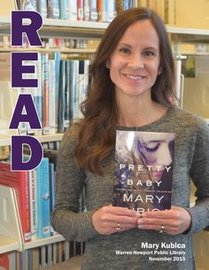 """Author Mary Kubica visited WNPL in November 2015 to discuss her latest novel """"Pretty Baby."""""""