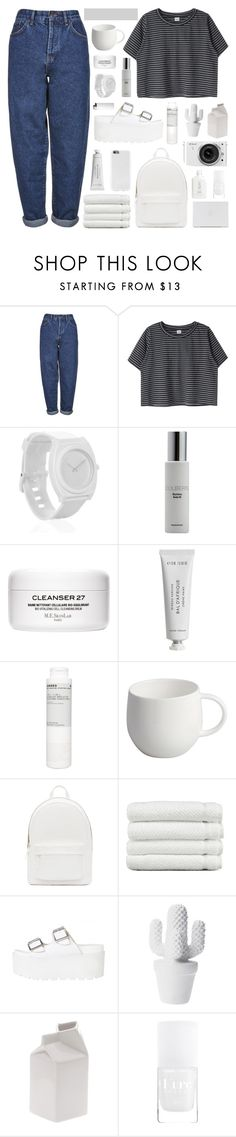 """""""forced from the world, a patient smile"""" by www-purrtydino-org ❤ liked on Polyvore featuring Boutique, Nixon, Colbert MD, Byredo, Korres, Alessi, PB 0110, Linum Home Textiles, Nikon and Seletti"""
