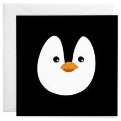 Penguin Greeting Card – wunderbär: design & illustration by independent artists Pinguin Illustration, Diy Trend, New Product, Penguins, How To Find Out, Recycling, Greeting Cards, Artists, Creative