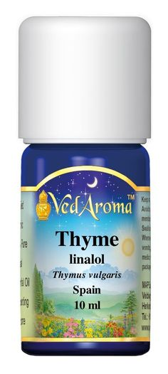 VedAroma Thyme, linalool Therapeutic Grade Essential Oil 10 ml * For more information, visit now : thyme essential oil