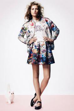 Markus Lupfer Spring 2014 Ready-to-Wear Collection - Vogue Floral Fashion, Love Fashion, Runway Fashion, High Fashion, Fashion Show, Womens Fashion, Fashion Design, London Fashion, Spring 2014