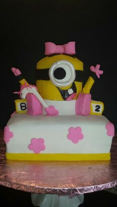 images about baby shower cakes on pinterest minion cakes minions