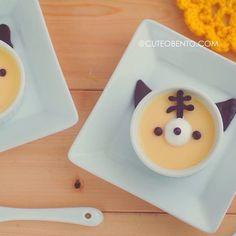 ねこちゃんプリン Kitten pudding