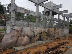 Aquarium, Fake Rock, Aqua Decor, Concrete Sculpture, Rock Formations, Stone Art, Decoration, Mount Rushmore, Brick