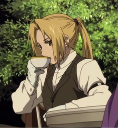 "Sip the tea sis - - - - ""He Made My Heart Fullmetal🌸"" - - - - - fma fmab fmabrotherhood fullmetalalchemist fullmetalalchemistbrotherhood alelric alchemist alkahestry alphonseelric elrical elricalphonse edelric edwardelric elriced elricedward Anime Ai, Kawaii Anime, Manga Anime, Fullmetal Alchemist Edward, Fullmetal Alchemist Brotherhood, Full Metal Alchemist, Wallpapers Tumblr, Alphonse Elric, Twilight Princess"
