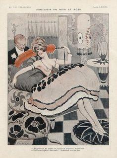 Vald'Es (Valvérane & D'Espagnat). La Vie Parisienne, 1920. [Pinned 22-i-2015]