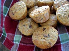 All-Bran Muffins with Chocolate and Dried Cranberries - Good Cheap Eats Breakfast Recipes, Snack Recipes, Cooking Recipes, Breakfast Ideas, Bread Recipes, All Bran Muffins, Vegetable Muffins, Healthy Sweet Treats, Make Ahead Meals