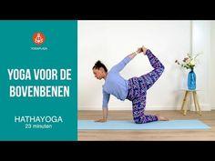 YOGA VOOR DE BOVENBENEN - YouTube Yoga Gym, Yoga Videos, Reiki, Dna, Pilates, Exercises, Stress, Healing, Workout