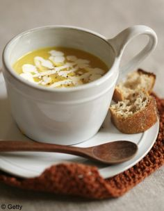 Soupe potimarron, gingembre & curry - À customiser : les soupes toutes faites