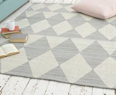 Http Loaf Com Products Checker Floor Rug