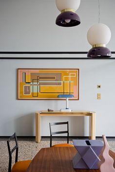 Artful home | follow @shophesby for more gypset boho modern lifestyle + interior inspiration www.shophesby.com