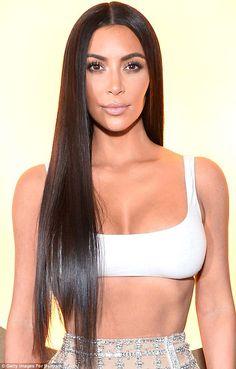 Sleek hair: Kim Kardashian always has super shiny hair and she revealed all six of her se... #kardashians