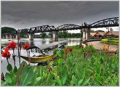 River Kwai, Kanchanaburi - Thailand