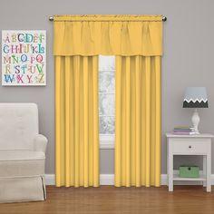 Kids Blackout Thermal Single Curtain Panel