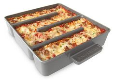 Too cool. All edges lasagna pan!