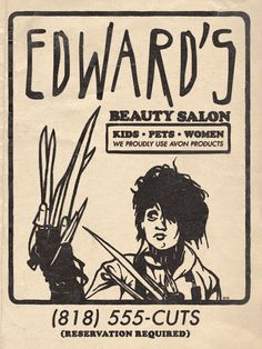 Ed's Beauty Salon; I thought this was funny!!!!
