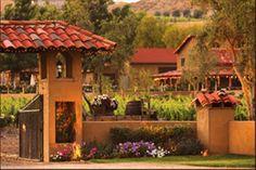 Great winery and pretty vineyard at Keyways in Temecula, CA.