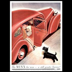 Hillman. Hillman Minx. From The 'Sketch' Magazine, Dec, 1938. DOCKERILLS AUTOMOBILE ADVERTISING REFERENCE - Kevin Dockerill - Picasa Web Albums
