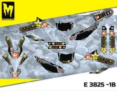 E 3825 - Yamaha R & X High quality graphics decal kit. Moto-StyleMX, premium manufacturer of dirt bike decals. Yamaha Wr, Custom Design, Decals, Bike, Graphics, Motorbikes, Bicycle, Tags, Graphic Design