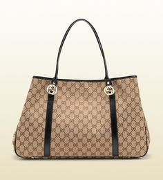 'GG twins' large tote with interlocking G details.