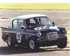 Sunbeam Rapier race car. v@e.
