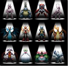 new mega pokemon pictures | Pokémon XY: Cocoon of Destruction will debut in Japan on July 19th ...