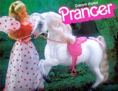 Barbie - Dream Horse Prancer, 1980s (Prince)