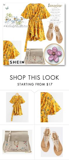 """""""shein"""" by thefashion007 ❤ liked on Polyvore"""