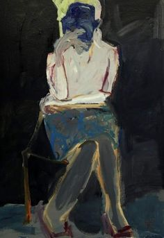 Barbara Kroll - selfie after Figure Painting, Painting & Drawing, Painting Inspiration, Art Inspo, Abstract Expressionism, Abstract Art, A Level Art, Paintings I Love, Portrait Art