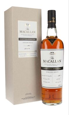 Macallan 1950 67 Year Old Exceptional Single Cask, Speyside Scotch Whisky, Whiskey Drinks, Whiskey Bottle, Single Malt Whisky, Bourbon, Liquor, Alcohol, Beer, Wine