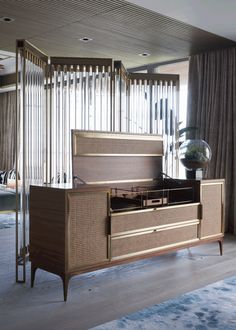 Hong-Kong-born designer Joyce Wang is certainly one of the best interior designers in the UK. Decor, Furniture Design, Mini Bar, Interior Furniture, Luxury Furniture, Furniture, Furniture Details, Interior Design, Cabinet Furniture