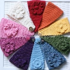 Headbands...in a rainbow of colors!