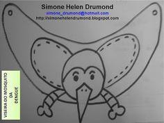 Simone Helen Drumond : 1 VISEIRA DO MOSQUITO DA DENGUE SIMONE HELEN DRUMOND Mosquitos Da Dengue, Mascara, Education, 1, Learning Activities, Science, Salud, Mascaras, Training