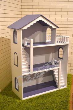 Кукольный дом ручной работы. Кукольный домик. Мастерская детских игрушек 'Сказка'. Интернет-магазин Ярмарка Мастеров. Кукольный дом