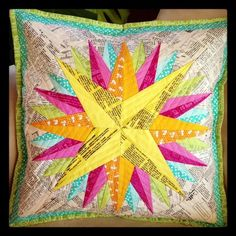 FREE Kaleidoscope Mariner's Compass Block Pattern