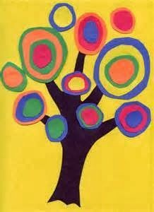 KANDINSKY TREES: I love art history and enjoy introducing kids to abstract art by showing them works by Kandinsky and allowing them to imitate the Russian painter's art work. Kandinsky is recognized as the pioneer of abstract art. Kids love making Kandinsky Trees because they are so easy to make and always turn out great. Click link to see what to do.