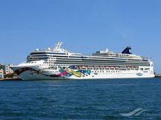 NORWEGIAN JEWEL, type:Passenger (Cruise) Ship, built:2005, GT:93502, http://www.vesselfinder.com/vessels/NORWEGIAN-JEWEL-IMO-9304045-MMSI-311827000