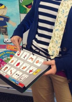 PODD in the Classroom: Portable, Wearable, & Comfortable