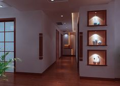 Home #interior #corridor #design render night Visit http://www.suomenlvis.fi/
