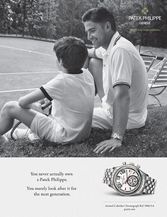 Patek Philippe SA - Product Advertising Annual Calendar Chronograph Ref. 5960/1A