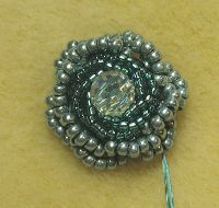 Beaded Bead PATTERN TUTORIAL Bullion Roses Janies Beads: