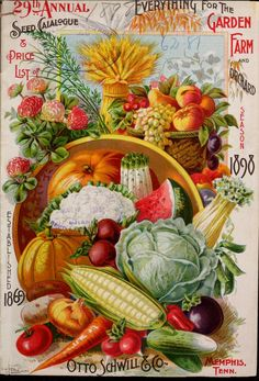 29th annual seed catalogue & price list of everything for the garden, farm and orchard : season 1898