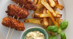 Børnene vil uden tvivl elske at få serveret nuggets og pommes frites til aftensmad!