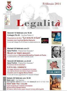 #Culturando febbraio 2014 LEGALITÀ