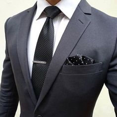 Great for business. Dark color for authority!